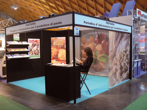 Lo stand di Pastaria a Sigep 2009