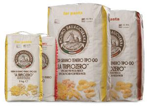 Triplozero, farina speciale per pasta fresca Molino Dallagiovanna