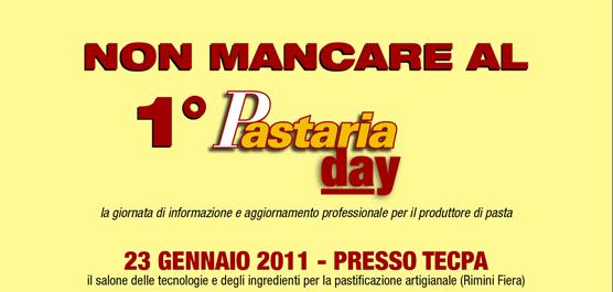 Pastaria Day, la giornata di informazione e aggiornamento professionale organizzata da Pastaria