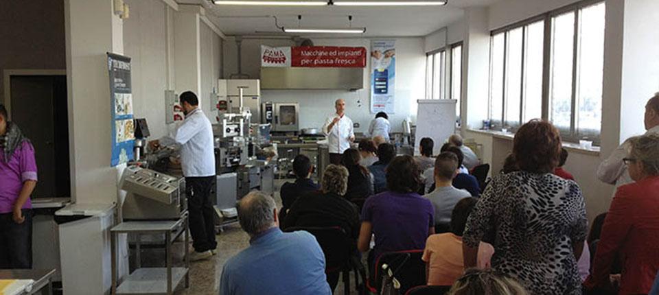 3° Seminario Pama sulla produzione di Pasta Fresca senza Glutine per Celiaci.