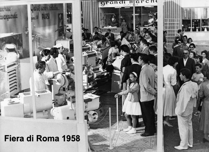 La Pama di Gustavo Parsi alla Fiera di Roma nel 1958