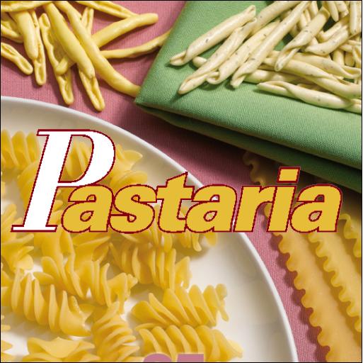 L'icona dell'APP di Pastaria, la rivista sulla pasta per chi produce pasta