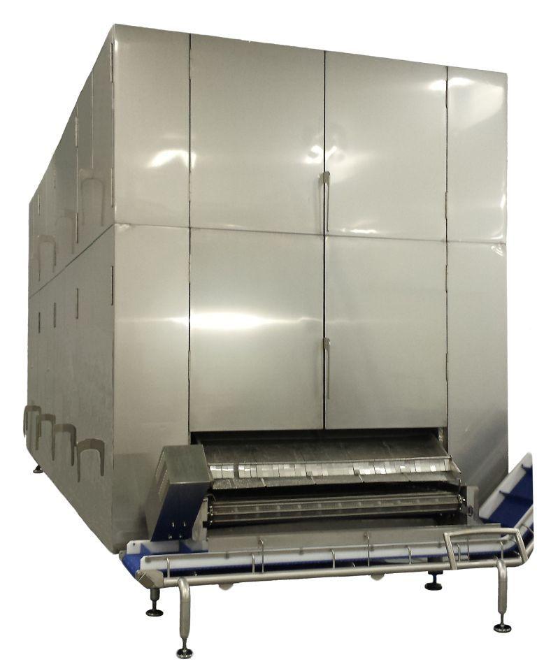 Trattamento termico per la pasta: raffreddatore mod. RF