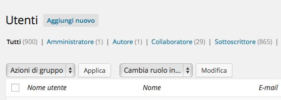 Pastaria.it: salgono a 900 gli utenti registrati