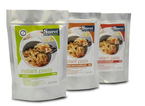 Online il minisito Storci dedicato alla pasta instant