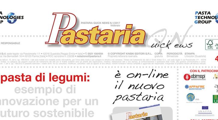 È in distribuzione Pastaria Quick News 1/2017