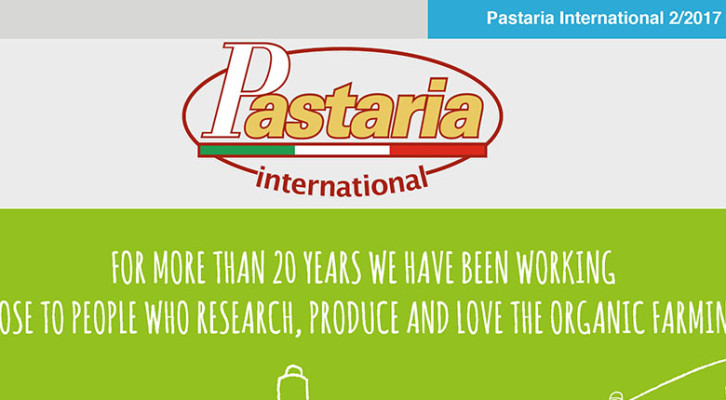 Pastaria 2/2017 now on line. Download it now, it's free