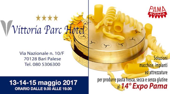 Expo Pama Macchine per Pastifici Bari 2017