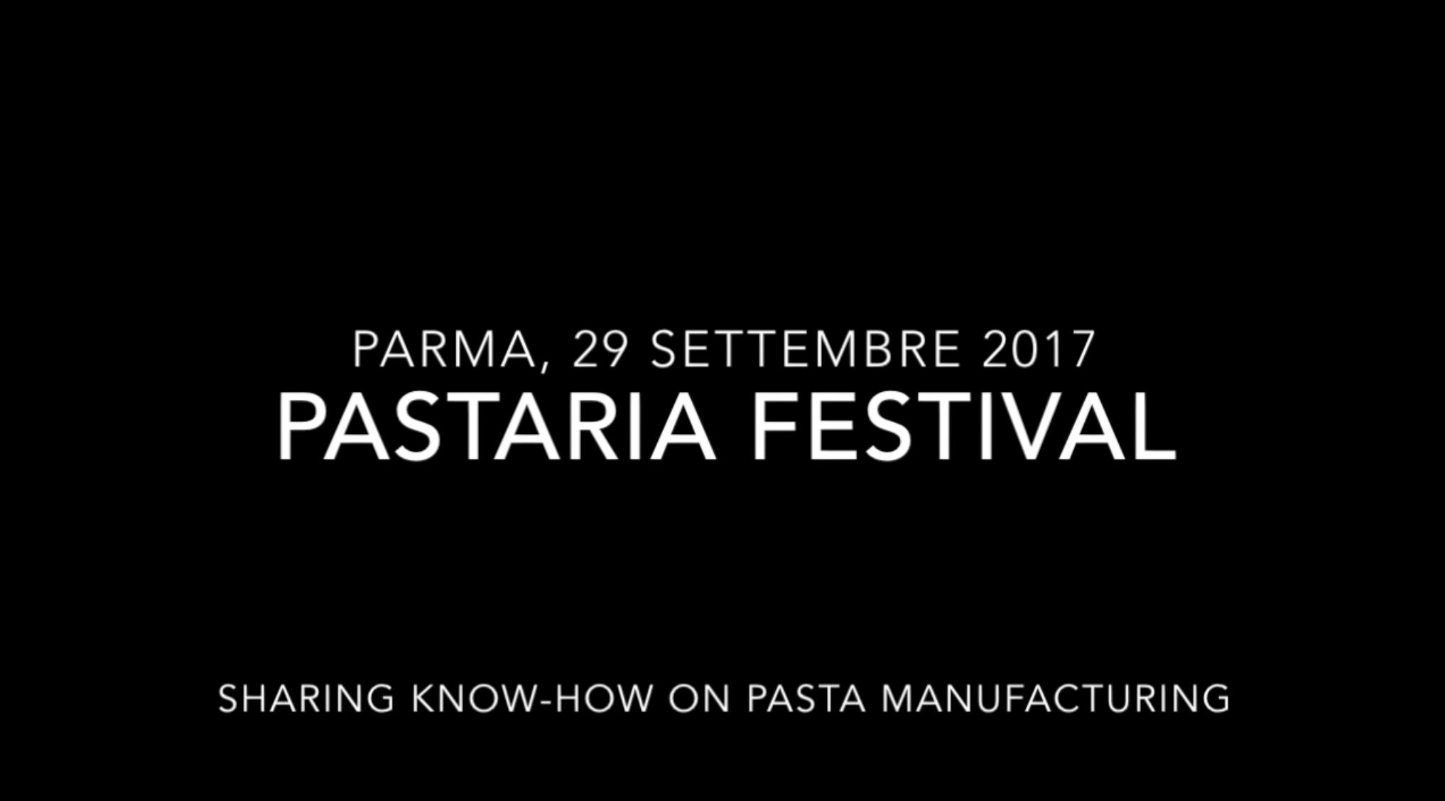Pastaria Festival 2017, il video di presentazione