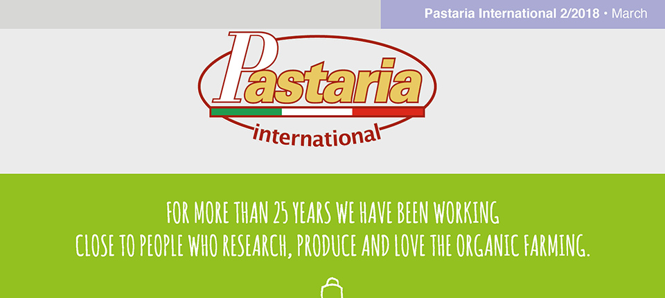 Pastaria 2/2018 now on line. Download it now, it's free