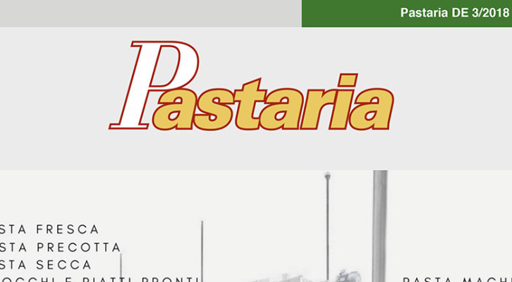 Pastaria 3/2018 now on line. Download it now, it's free