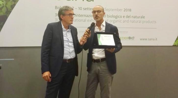 """LA LINEA BIO """"SENATORE CAPPELLI"""" DI GRANORO PREMIATA AL SANA PER I BIO AWARDS 2018"""