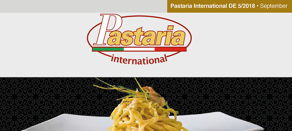 Pastaria 5/2018 now on line. Download it now and discover out the programme of the Pastaria Festival 2018