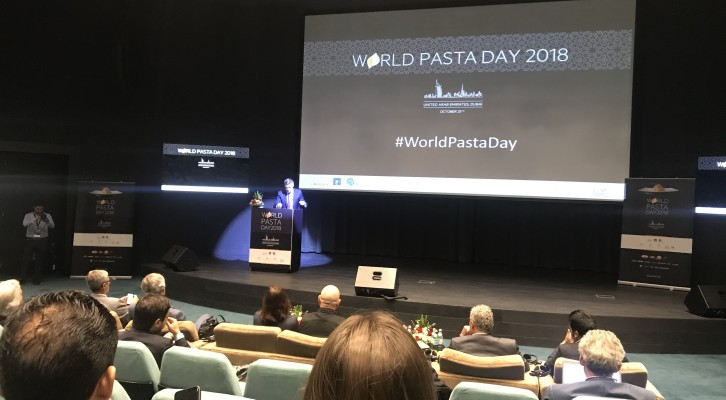 Oggi a Dubai il World Pasta Day