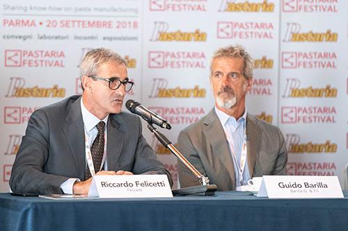 Il board del Gruppo pasta di Unione Italiana Food al Pastaria Festival 2019