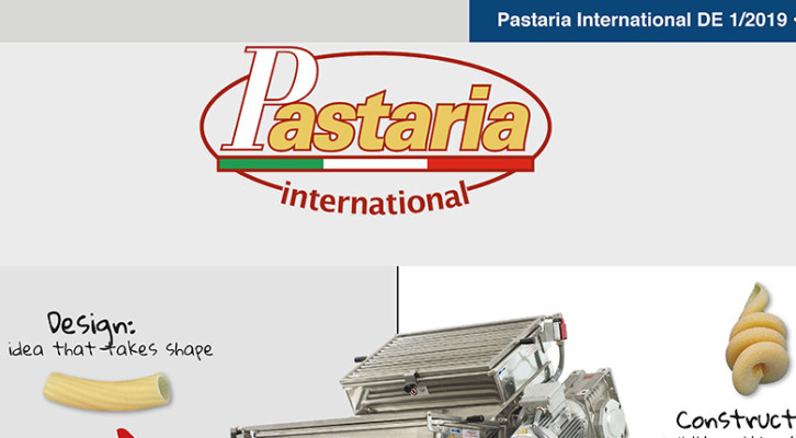 Pastaria 1/2019 now on line. Download it now, it's free