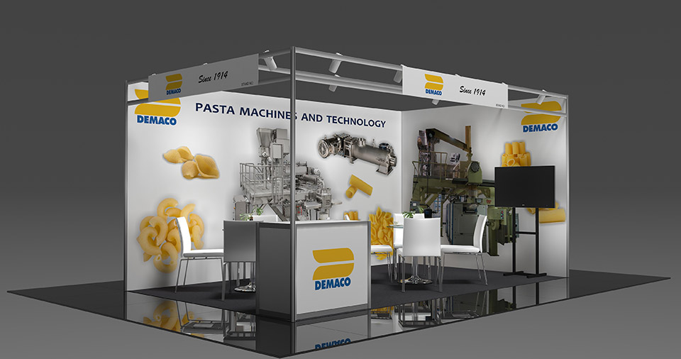 DEMACO Showcases New Technology for Pasta Machines at IDMA Fair in Istanbul