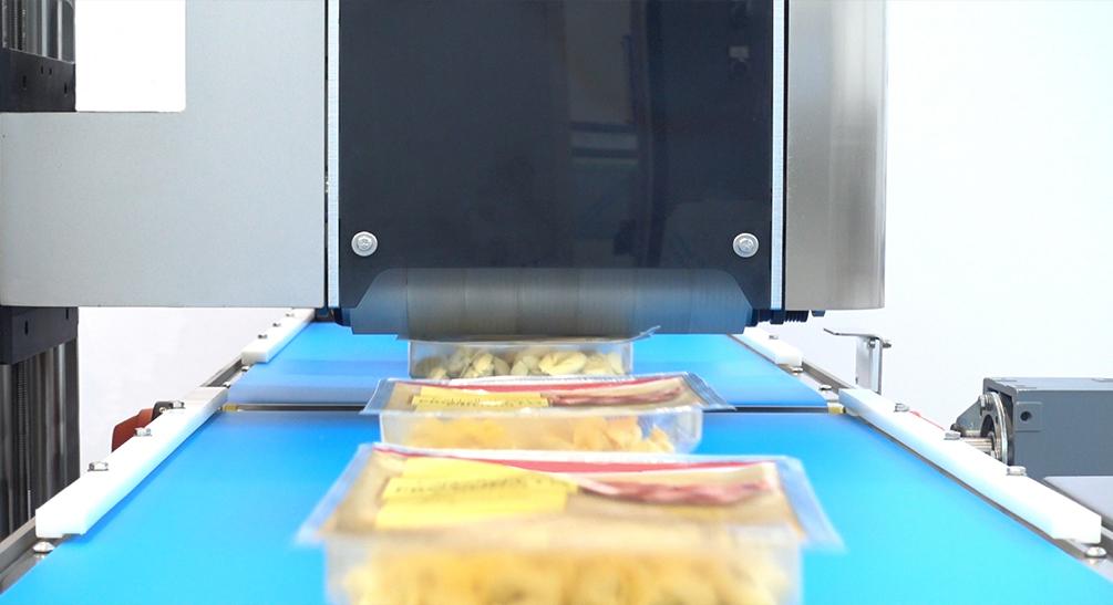 Controlli non distruttivi nella pasta fresca confezionata in MAP: nuove tecnologie per il controllo qualità in linea