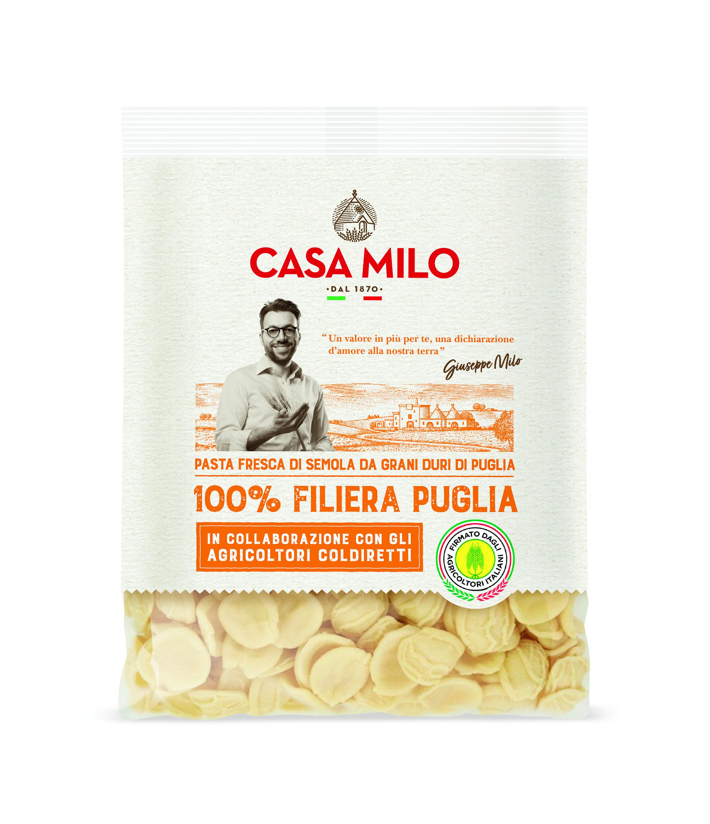 Casa Milo lancia la nuova linea 100% Filiera Puglia
