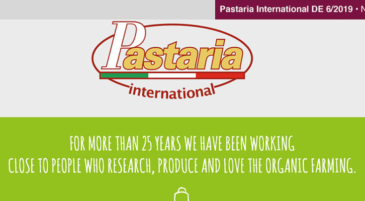 Pastaria 6/2019 now on line. Download it now, it's free