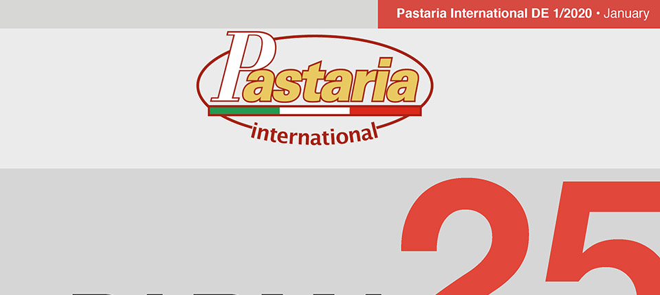 Pastaria 1/2020 now on line. Download it now, it's free