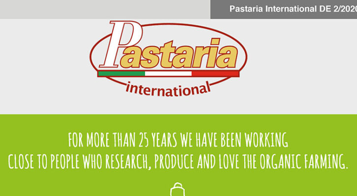 Pastaria 2/2020 now on line. Download it now, it's free