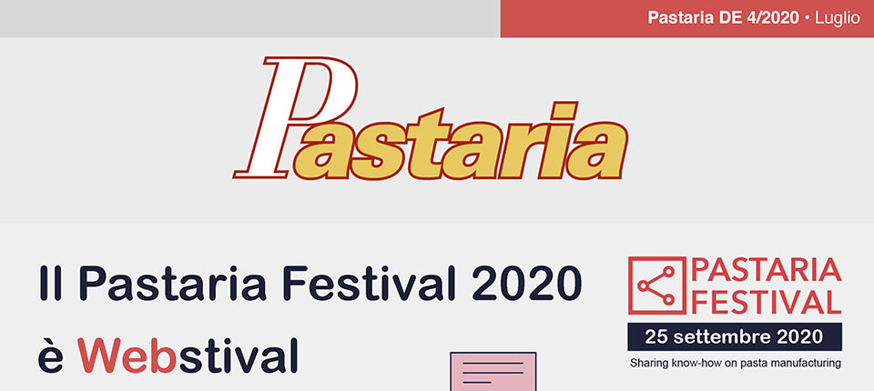 Pastaria 4/2020 è on line. Scaricalo subito gratuitamente!