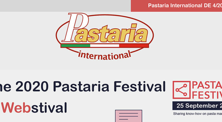 Pastaria 4/2020 now on line. Download it now, it's free