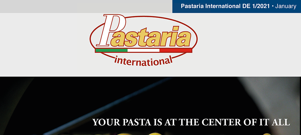 Pastaria 1/2021 now on line. Download it now, it's free