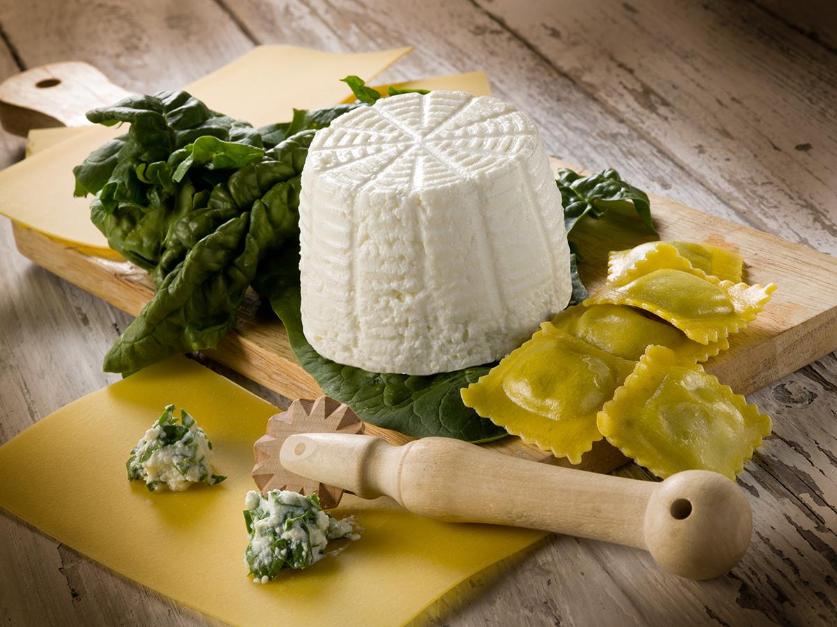 La Cucina dei Sapori, un alleato nella preparazione della pasta ripiena, propone il semilavorato ricotta e spinaci